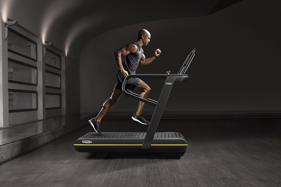 Technogym SKILLRUN : A unique treadmill designed for performance training offering a complete solution for both cardio and power workouts (PRNewsfoto/Technogym)