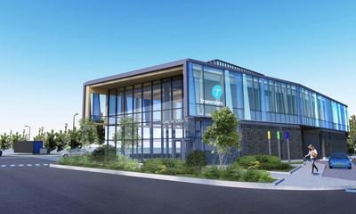 Concept architectural de la nouvelle gare fluviale de Sorel-Tracy (Groupe CNW/Société des traversiers du Québec)
