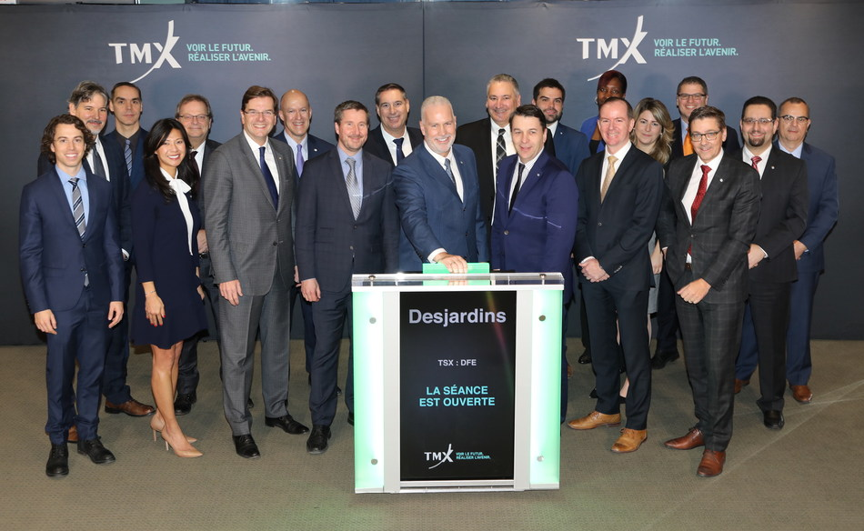 Desjardins Exchange Traded Funds Opens the Market (CNW Group/TMX Group Limited)