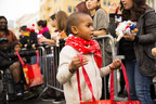 Thousands Of Impoverished Children On Skid Row Receive Toys At The Fred Jordan Missions' Annual Christmas Toy Party