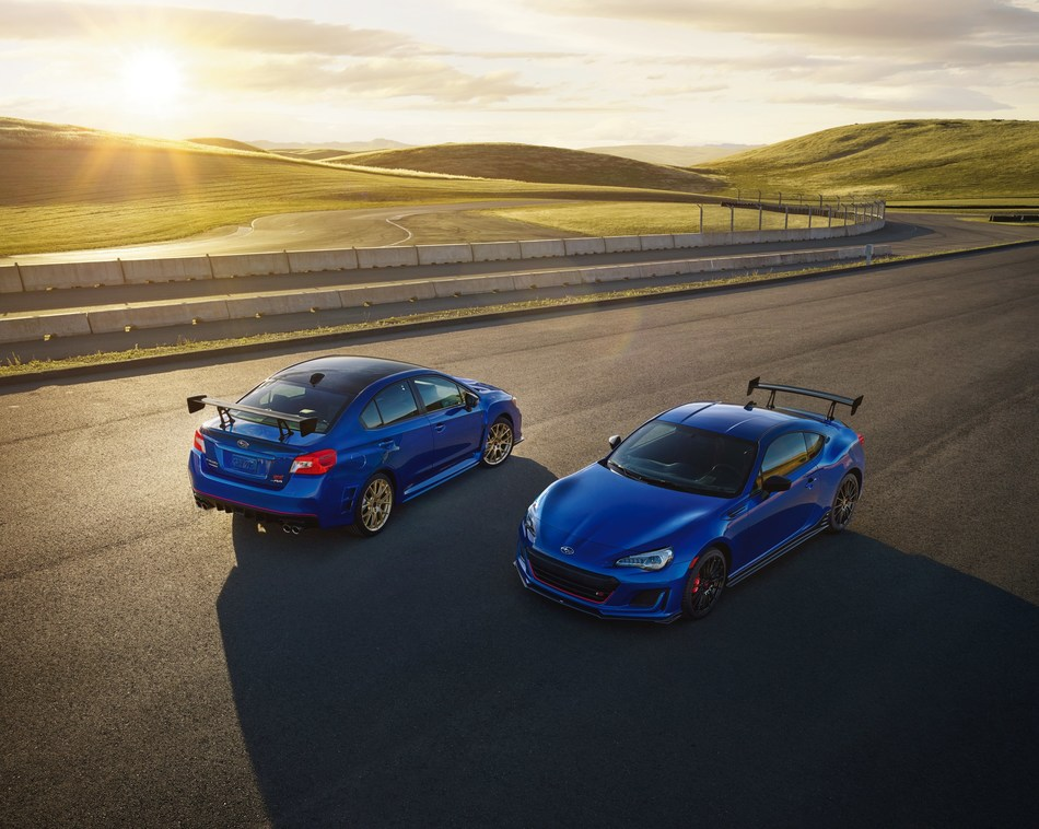 Subaru Announces Pricing on Limited Edition 2018 WRX STI Type RA and BRZ tS