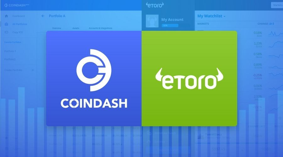 eToro announces partnership with CoinDash (PRNewsfoto/eToro)