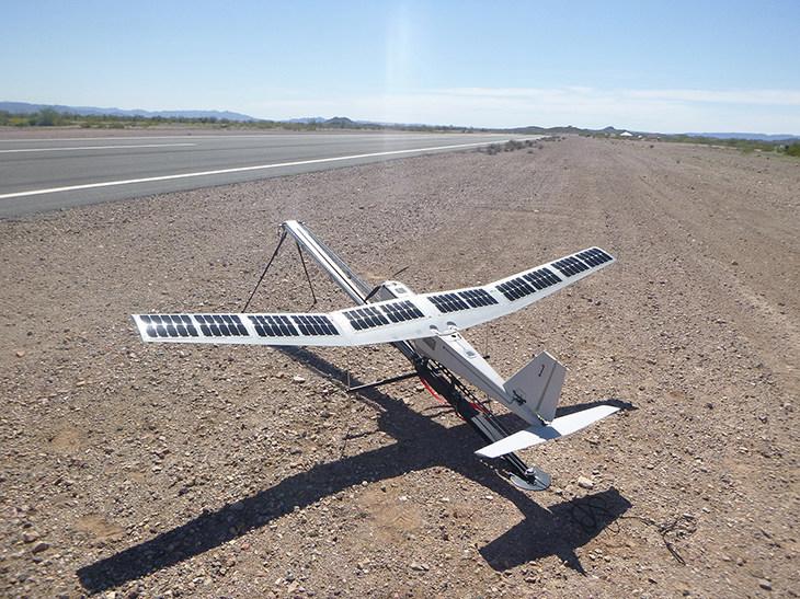 PUMA UAV Test Launch