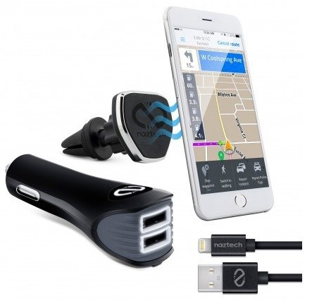 Naztech Introduces the Safety Essentials Car Kit with Magnetic Air Vent Car Mount