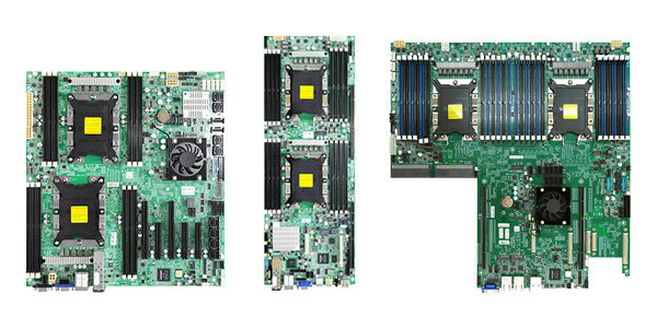 AIC server boards (Virgo, Pavo and Lynx)