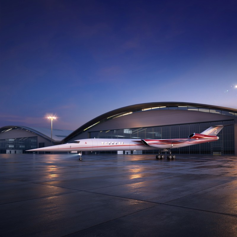 AS2 design advances with new engine configuration. Aerion has refined the aircraft design.