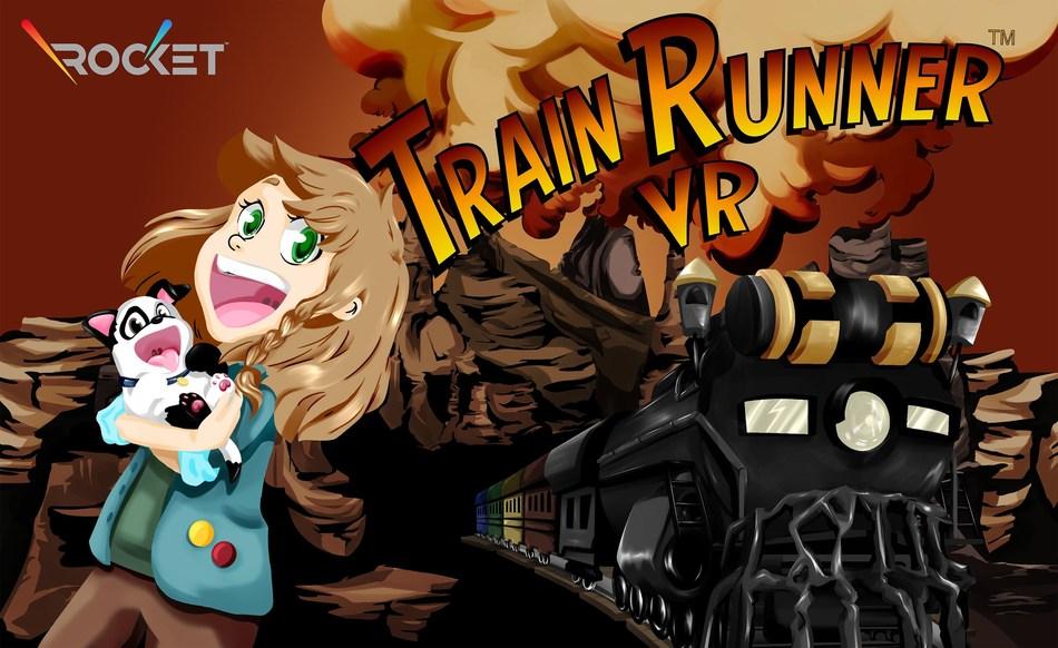 Train Runner VR Keyart