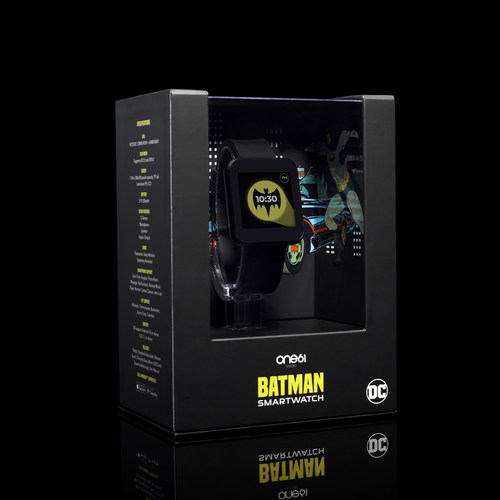 """The Superhero Smartwatch Collection offers a """"gamified"""" interactive experience with the hottest superheroes including Batman, the Flash, and Wonder Woman."""
