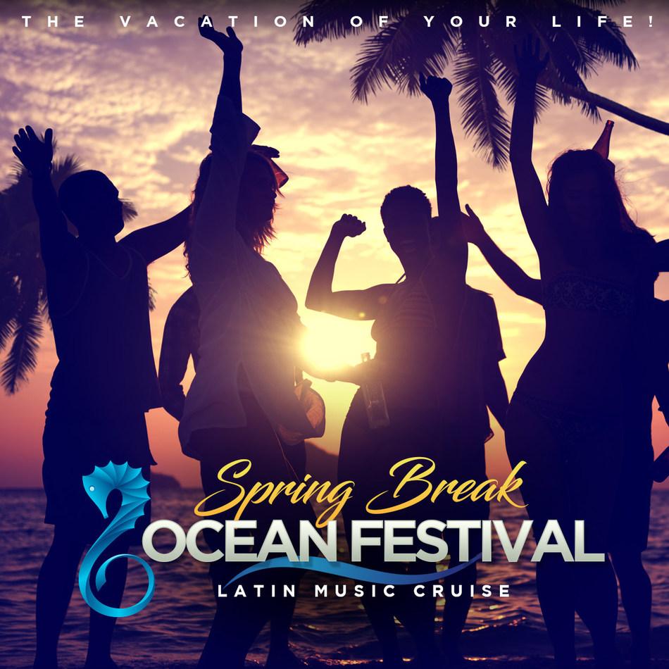 """""""Spring Break Ocean Festival"""" el primer festival de música latina sobre el océano"""