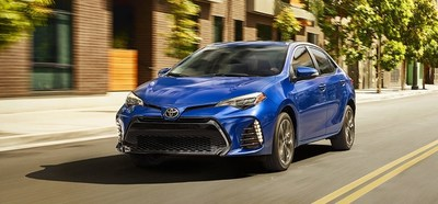 The 2018 Toyota Corolla LE is one of the many vehicles available for special pricing during the Toyotathon sales event at Headquarter Toyota.