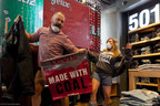 Climate pollution protests with 'Too Dirty to Wear' campaign begin at Levi's flagship San Francisco store