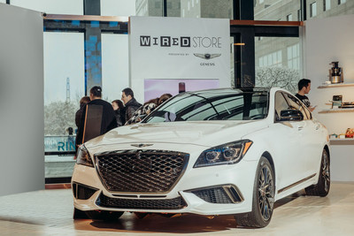 Genesis Partners with WIRED Store to Highlight Luxury Vehicle Connectivity