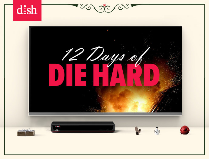 DISH gifts customers Die Hard on-demand for 12-day period from Dec. 15-26