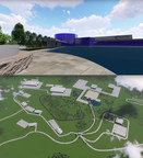 Rendering of EnerBlu's new manufacturing facility to be built in Pikeville, KY.
