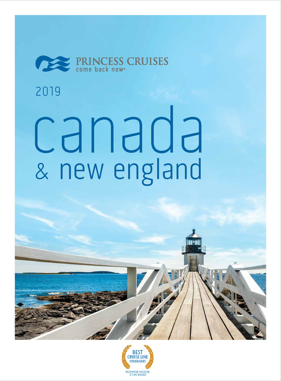 Princess Cruises Announces Largest-Ever Fall 2019 Deployment to Canada & New England