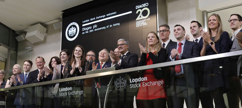 To mark the celebration, Diageo's Chief Executive, Ivan Menezes, along with the company's talented team of Scotch Whisky Blenders and fellow members of the senior leadership team opened the market at the London Stock Exchange.