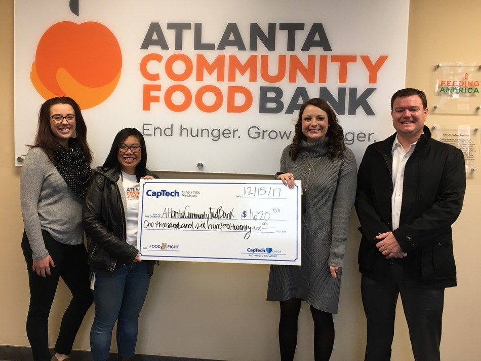 CapTech Atlanta Food Fight Raises 6480 Meals for the Atlanta Community Food Bank