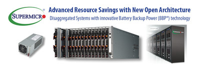 新的美超微資源節約型開放架構可為數據中心節省大量資源