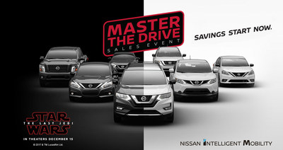 Continental Nissan hosts incentive pricing on select vehicles during the Nissan Master the Drive Sales Event.