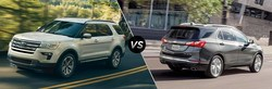 Heritage Ford put together a few new tools to help buyers see the differences and advantages of its newest SUVs over a couple of competitors from Chevrolet.