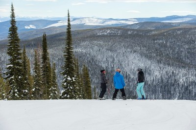 Lost Trail Powder Mountain offers great skiing for every experience level.