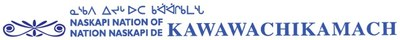 Logo : Naskapi Nation of Kawawachikamach (Groupe CNW/Nation Naskapie de Kawawachikamach)