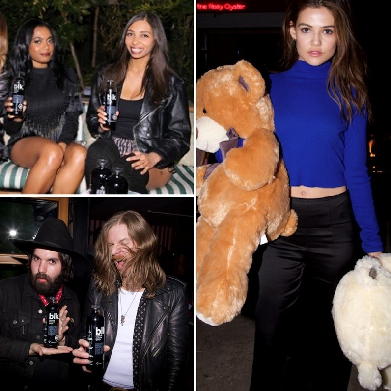 blk.® partnered with Flaunt magazine for a holiday party and toy drive at The Hollywood Roosevelt in Los Angeles on Thursday, Dec. 14, 2017. Over 500 toys were collected from the crowd of influencers, socialites and celebrities. Items will be donated to Los Angeles Mission, a nonprofit shelter for men, women and children in need. Cases of blk.®'s fresh alkaline water infused with fulvic minerals were also donated to the organization. To learn more and purchase blk.®, visit www.getblk.com.