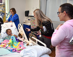 Patients at St. Joseph's Children's Hospital in Tampa give their Christmas wish list to Santa Claus over the amateur radio system housed in the hospital's emergency communications center Thursday, Dec. 14, 2017.