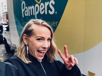 Marie-Mai x Pampers (Groupe CNW/Pampers)