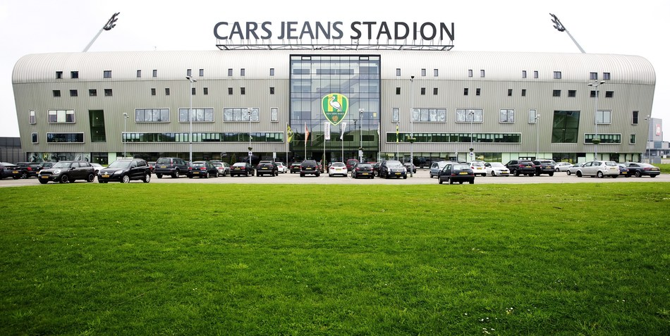 The Cars Jeans football stadium in The Hague, The Netherlands (photo source: Hollandse Hoogte) (PRNewsfoto/Alfen B.V.)