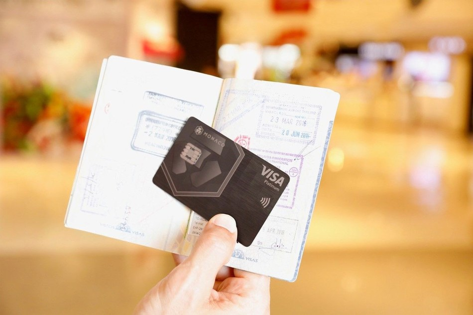 Monaco Introduces LoungeKey Airport Lounge Access to Monaco Visa Platinum Rose Gold, Space Gray, and Obsidian Black Cards (PRNewsfoto/Monaco)