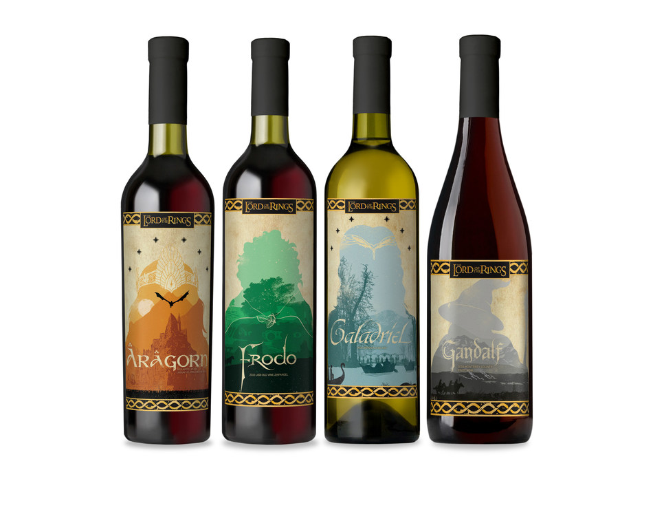 Winemaker Lot18 has teamed up with Warner Bros. Consumer Products to produce a limited-edition collection of wine inspired by New Line Cinema's THE LORD OF THE RINGS Trilogy.