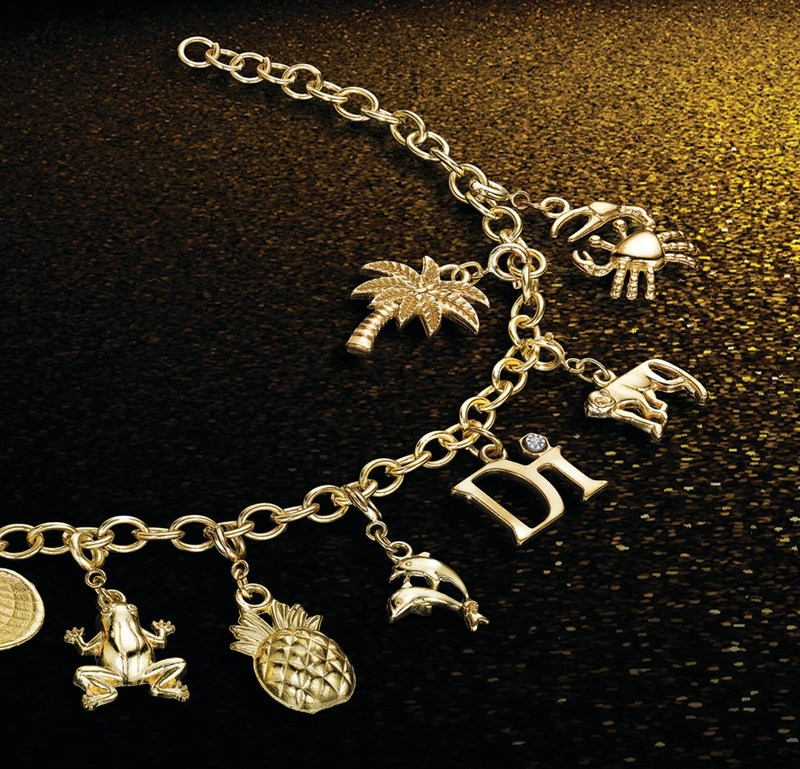 The iconic Diamonds International charm bracelet and collectible island-inspired charms have been a favorite Caribbean keepsake with Cruise ship travelers for 20 years. Over 1 million charm bracelets are given out annually.