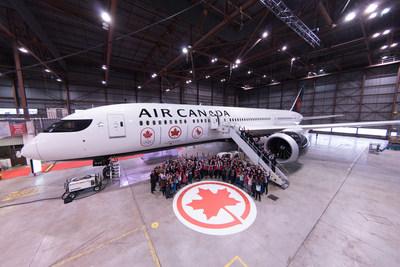 Transporteur officiel des équipes canadiennes pour les Jeux de 2018 à Pyeongchang et de 2020 à Tokyo (Groupe CNW/Air Canada)