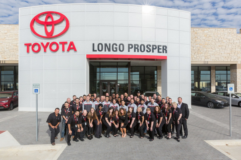 Dallas Toyota Dealers >> Longo Toyota of Prosper officially opens for business
