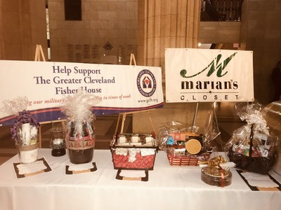 Attendees supported the event's two charities by trying their luck in raffles for a slew of donated items.
