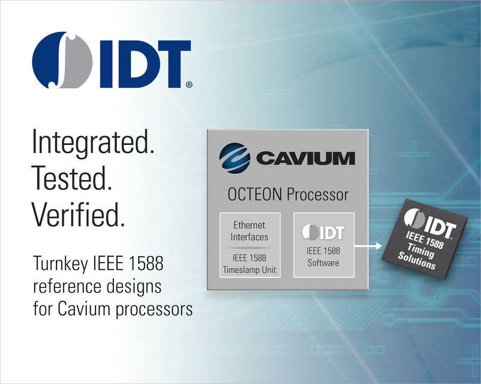 IDT and Cavium joint announcement