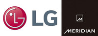 LG partners with Meridian Audio to deliver high-performance audio solutions.
