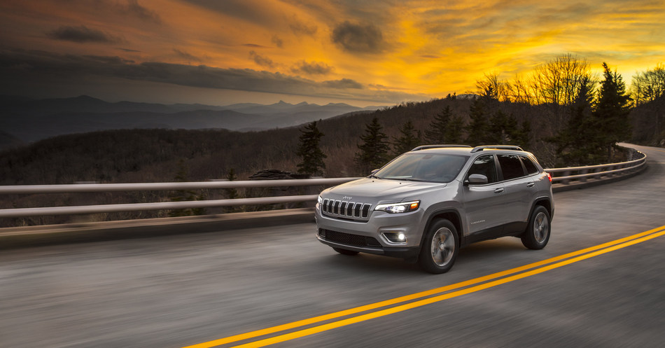 Introducing the New 2019 Jeep® Cherokee: The most capable mid-size sport-utility vehicle (SUV) boasts a new, authentic and more premium design, along with even more fuel-efficient powertrain options. Additional images and complete vehicle information will be available January 16, 2018, at the North American International Auto Show in Detroit.