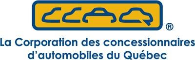 Logo : Corporation des concessionnaires d'automobiles du Québec (Groupe CNW/Corporation des concessionnaires automobiles du Québec)