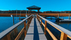 AZEK® Building Products Partners with Dick's Decks and Docks to Build a Dock Destroyed by Hurricane Matthew for a Deserving Family in South Carolina