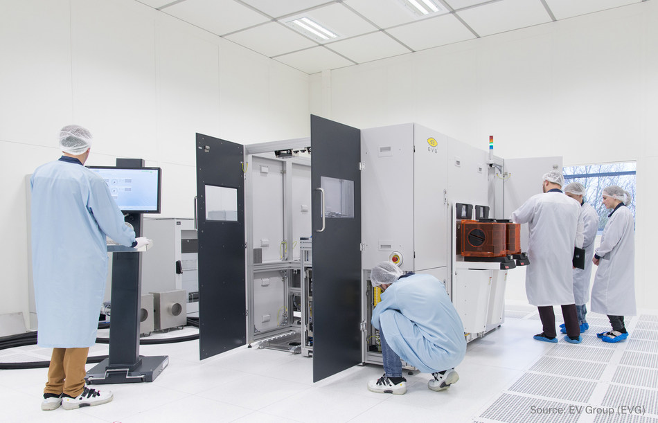 The new test rooms at EV Group's corporate headquarters provide additional space for the final assembly of its high-precision systems, as well as technical source inspection by its customers along with EVG specialists.