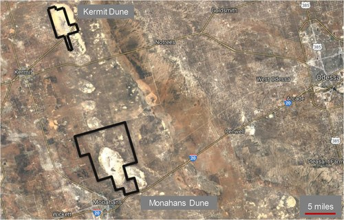 Atlas Sand's Large, Logistically Advantaged Position in Kermit and Monahans, TX