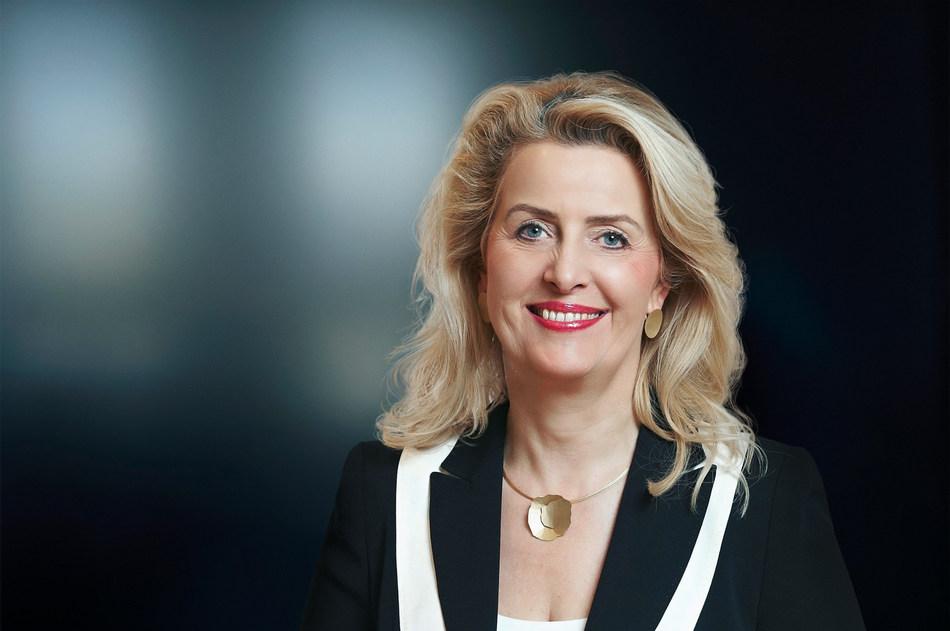 Annette Stieve, Member of the Executive Board of Directors, Hoffmann SE; Finance & General Services. (PRNewsfoto/Hoffmann Group)