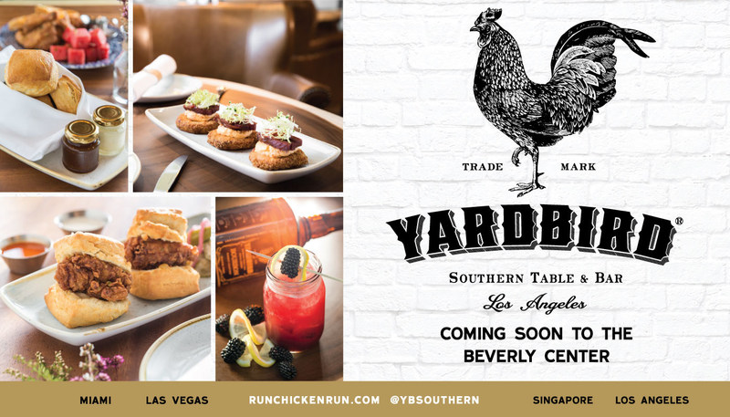 Yardbird Southern Table & Bar Coming Soon To Los Angeles