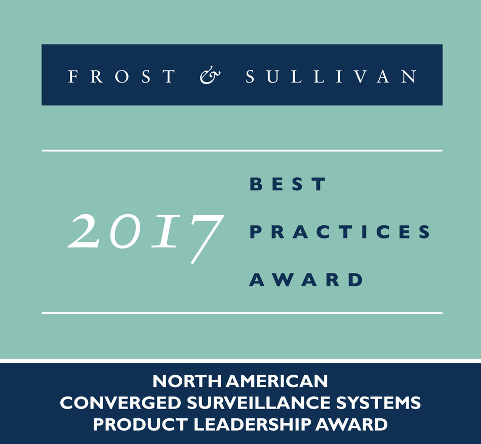 Frost & Sullivan recognizes Vidsys with the 2017 North American Product Leadership Award for its Enterprise CSIM software platform.