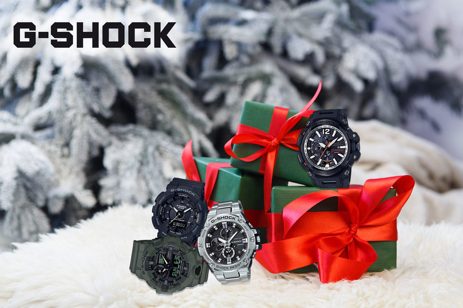 Stylish G-SHOCK Timepieces For The Holidays