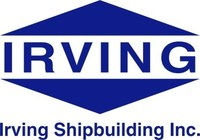 Logo: Irving Shipbuilding Inc. (CNW Group/Irving Shipbuilding Inc.)