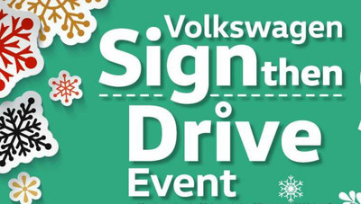 Sign then Drive at Findlay VW this holiday season and save on several new 2017 Volkswagen models.