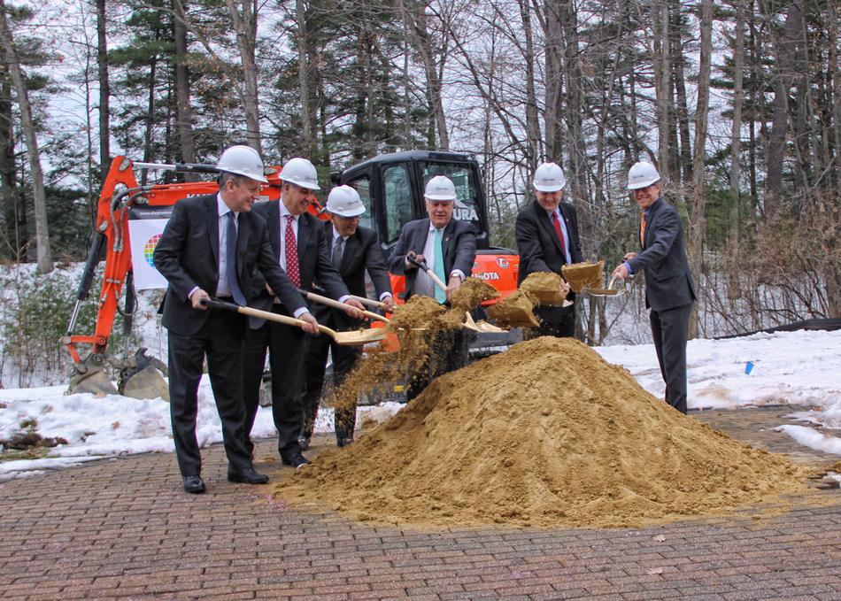 New Hampshire Officials Celebrated Allegro's Groundbreaking Ceremony